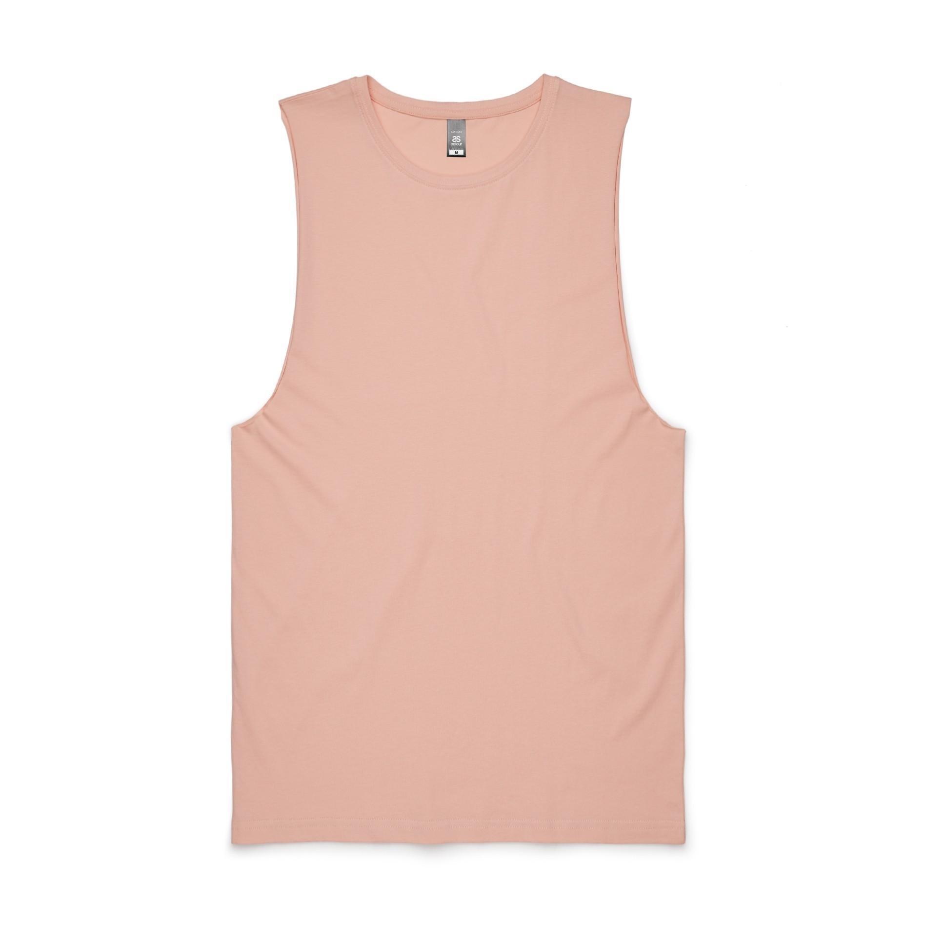 87458238800ea6 5025 - Barnard Tank Tee - Pale Pink. Pale Pink