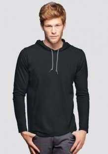 Organic Long Sleeve Hooded Tee