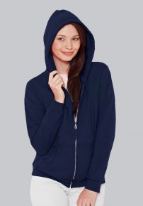 Ladies Fitted Zip Hoodie
