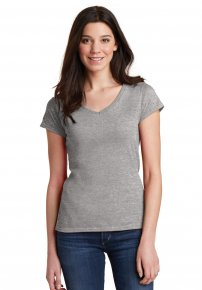 Ladies Soft Style V-Neck Tee